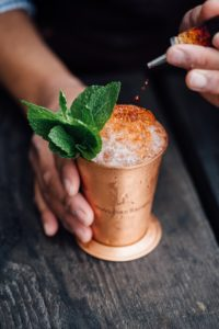 southern cocktail mint julep